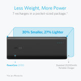 Cargador Powerbank del Portable de Anker Powercore 20100