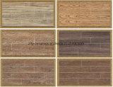 Azulejo de suelo de madera de cerámica de la talla múltiple
