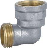 Ajustage de précision en laiton de té de tuyauterie de Plsting de chrome avec Quanlity élevé (YD-6033)