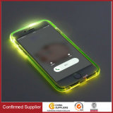 Atacado Transparente PC TPU Call Incoming Flash LED Phone Phone Case