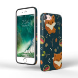 O costume imprimiu a tampa do telefone móvel do caso do iPhone 7 de TPU
