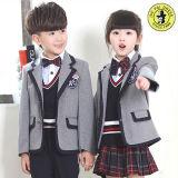Diseño primario del uniforme escolar de los cabritos de los uniformes escolares de la alta calidad