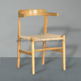 Cadeira de madeira do restaurante do café da estrutura das vendas por atacado com corda de tração (SP-EC645)