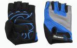 Тренировки пригодности перчатки велосипеда Jinrex 2017 перчатка перста спортов Anti-Slip задействуя половинная