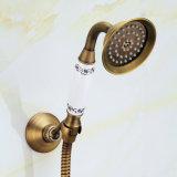 Taraud de mélangeur de robinet de douche de FLG avec du laiton antique en céramique