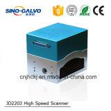 Scanner láser Galvo Jd2203 para el código de barras de marcado láser
