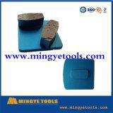 Diamant-Hilfsmittel, die Schuhe für das Reiben des konkreten Fußbodens reiben