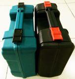 Caja de herramienta portable de moldeo por insuflación de aire comprimido
