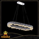 Esszimmer-modernes Acryl und hängende Lampe des Edelstahl-LED (KA10148)