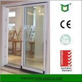 Алюминиевая раздвижная дверь профиля при Tempered стекло сделанное в Китае