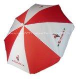 De gepersonaliseerde OpenluchtParaplu van de Paraplu van het Strand met UVBescherming Wind