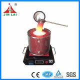 Horno de fusión eléctrico de plata de oro del uso del laboratorio (JL-MF-1)