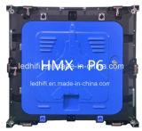 Indicador video ao ar livre impermeável ao ar livre de gabinete de indicador video do diodo emissor de luz P6 da cor cheia de China bom que anuncia a tela do diodo emissor de luz de SMD3535 P8 (P6, P10)