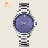 Horloge van het Kristal van het Horloge van de Sport van Mens het Waterdichte met Band 72357 van het Roestvrij staal