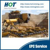 400t/H op het Droge Goud die van het Land Machines selecteren