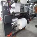 기계를 인쇄하는 6개의 색깔 짠것이 아닌 직물 Flexo