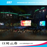 Seamless 4.81m Front Service Display LED ao ar livre, LED Big Screen Die Casting Aluminium