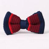 La qualité en gros faite sur commande a tricoté la relation étroite de proue, relation étroite de proue en gros tricotée des garçons des hommes de modèle