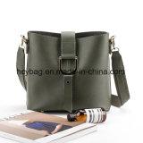 2017 sacchetto di mano europeo stabilito classico di stile del sacchetto di cuoio della signora Shoulder Handbags Hcy-9956
