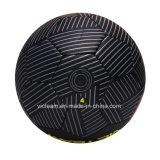 黒い驚くばかりの涼しい耐久財PVCギフトのフットボール