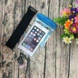 Brazal seco de la bolsa del caso del bolso subacuático impermeable de la cubierta para el teléfono móvil