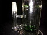Conduite d'eau AA027 de fumage en verre