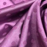 Многоточи-Тип сатинировка Spandex жаккарда имитировал шелк для ровных Nightgown и нижнего белья