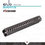 Tacband HochleistungsM16 Quadguard Schienen des 15 Zoll-freien Gleitbetriebs-W/Picatinny