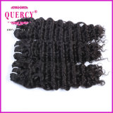 Do Weave brasileiro não processado do cabelo humano do Virgin de 100% cabelo profundo humano da onda