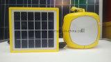 lampada solare 2W per tempo urgente e di campeggio