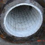 Tubo de acero de cerámica del alúmina de la protección del desgaste