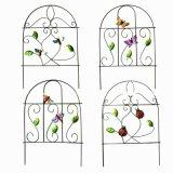 Handgemachter Sprung-Garten-Dekoration-Metallzaun Craft-46CMH