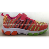Chaussures confortables de chaussures sportives de Flyknit de chaussures de gosses de chaussures d'enfants pour la fille de garçon