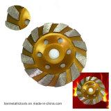 소용돌이 나 터보 다이아몬드 컵 바퀴