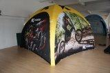 Выдвиженческий раздувной совсем напечатанный шатер купола шатра спайдера партии шатра