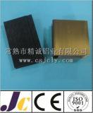 Profil en aluminium enduit d'extrusion de poudre de 6063 T5 Corlorful (JC-W-10037)