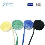 Linha de dados de nylon 100% Back to Back Hook e Loop Cable Tie