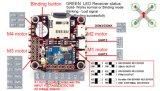 Racercube integrou o receptor Mwosd do ESC Frsky 8CH Ppm do controlador de vôo 4in1 do F3 Evo Littlebee F396 MCU 20A/Sbus com Pdb para Fpv