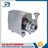 Pompe centrifuge de lait hygiénique d'acier inoxydable avec le moteur d'ABB