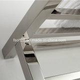 Radiateur de salle de bains d'échelle d'essuie-main d'acier inoxydable dans le modèle carré