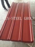 Gewölbte Farben-Eisen-Platte/Farbe erstellten Stahldach-Blatt ein Profil