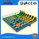Парк Trampoline большой коммерчески Multi функции крытый для оптовой продажи Adults&Children
