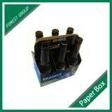 La bière intense durable de 6 paquets enferme dans une boîte le constructeur