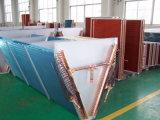 Échangeur de chaleur en aluminium d'ailette de tube de cuivre pour des climatiseurs