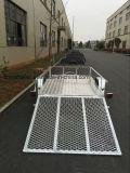 Гальванизированный трейлер ATV с полом плиты Aluminim