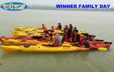 Vencedor Hot Sale plástico Duplo Pessoa Sit em Ocean Boat