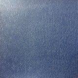 Colorear el cuero sintetizado cambiante de la PU para el cuaderno Hx-0724