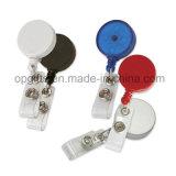 Изготовленный на заказ держатель значка йойа металла, пластичный вьюрок значка, планки лыжи