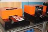 Stampante di getto di inchiostro a base piatta UV poco costosa di Multifuctional A3 LED del coperchio mobile di legno di plastica del metallo