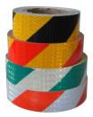 可視性の白く赤い反射テープのカスタマイズされたデザイン長距離3つのM